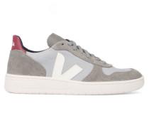 Sneaker V10 aus Mesh in Grau und Taupe