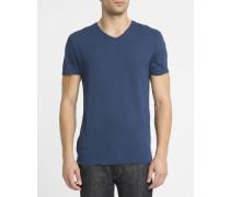 Blaues T-Shirt mit V-Ausschnitt Jacksonville