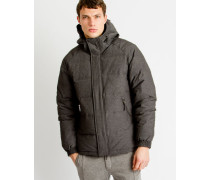 Iconic Down Jacket Grey