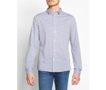 3510 Shirt In Striped Melange LookFabric