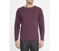 Klassisches Matrosen-Shirt 1525 in Marineblau und Rot