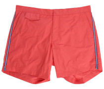 Rote Badehose Side Stripes