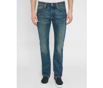 Blaue Jeans 501 Mid Washed