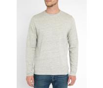 Sweatshirt Halfdan in Ecru