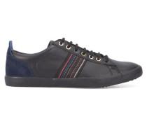 Sneaker schwarzes Leder Osmo