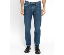 Jeans Tapered Stone Washed
