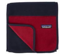 Schal Synchilla Fleece Blau-Rot-Kontrast