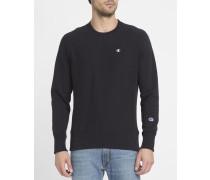 Schwarzes Classic-Sweatshirt mit Logo