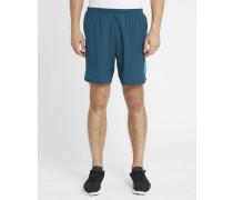 Grün-türkise Shorts 7' Poursuite 2-in-1
