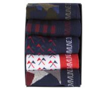 Fünferpack Socken