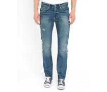 Jeans 501 Pr in Bohemian Used Blau