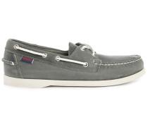 Bootsschuhe aus Leder grau Docksides