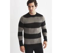 Mens Knitted Jumper Black