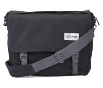 Schwarze Messengerbag aus Stoff Delegate 20 l