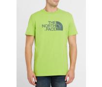 Grünes T-Shirt mit Logo TNF Pr