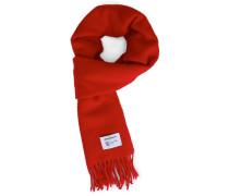 Roter Schal aus Lambswool