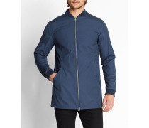 7406 Jacket With Bomber Collar
