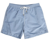 Blue Chambray Swim Shorts