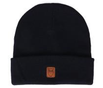 Mütze aus marineblauer Schurwolle