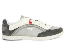 Nylon-Sneakers aus schwarzem Wildleder Starch