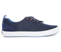 Marineblaue Tech-Sneaker Flexdeck
