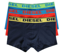 3-Pack Navy Turquoise Red Shawnthreepack Briefs