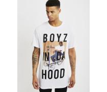 Boyz In Da Hood T-Shirt White