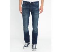 Jeans 511 Slim Dark Indigo Worn In Copper Tint