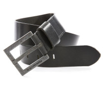 Gürtel aus schwarzem Leder Duco