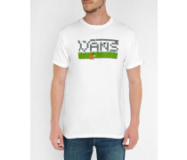 Weißes T-Shirt Nintendo Pack Print