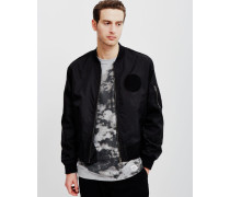 Rank Bomber Jacket Black