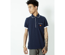Short Sleeve Polo Shirt with Pocket