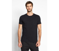 1002 Round Neck Tee With Pocket