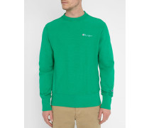 Ausgewaschen grünes Sweatshirt
