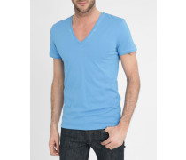 Blaues T-Shirt Glow in the Dark Jesse Print