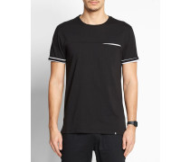 T-Shirt Streifendetails Tero