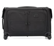 Schwarzer Koffer mit Rollen Alpha