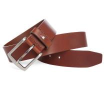 Cognacfarbener Ledergürtel Danton 5 cm