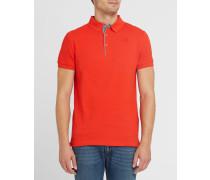 Rotes Poloshirt Pr