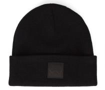 Mütze Patch in Schwarz