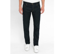 Marineblaue Slim-Jeans Don Pr