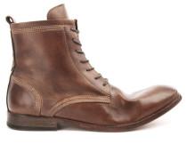 Camelfarbene Boots Swathmore Leder
