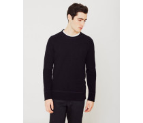 Co Dag Recycled Wool Knit Jumper Black