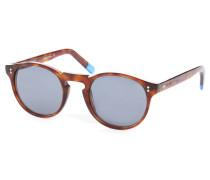Braune Schildpatt-Brille Pelosa