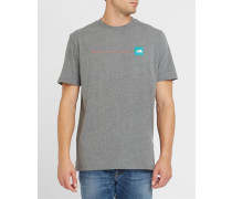 Anthrazitgraues T-Shirt mit Logo TNF Pr