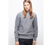 Reverse Weave Crew Neck Sweatshirt Grey
