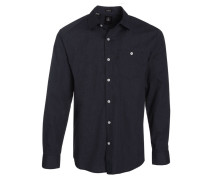 Everett Solid Hemd blau (NAVY)