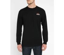 Black Nintendo Pack Print Back LS T-Shirt