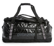 Schwarze Handgepäcktasche mit Trägern Duffle Black Hole 60L