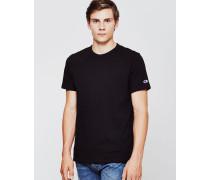 Reverse Weave Crew Neck T-Shirt